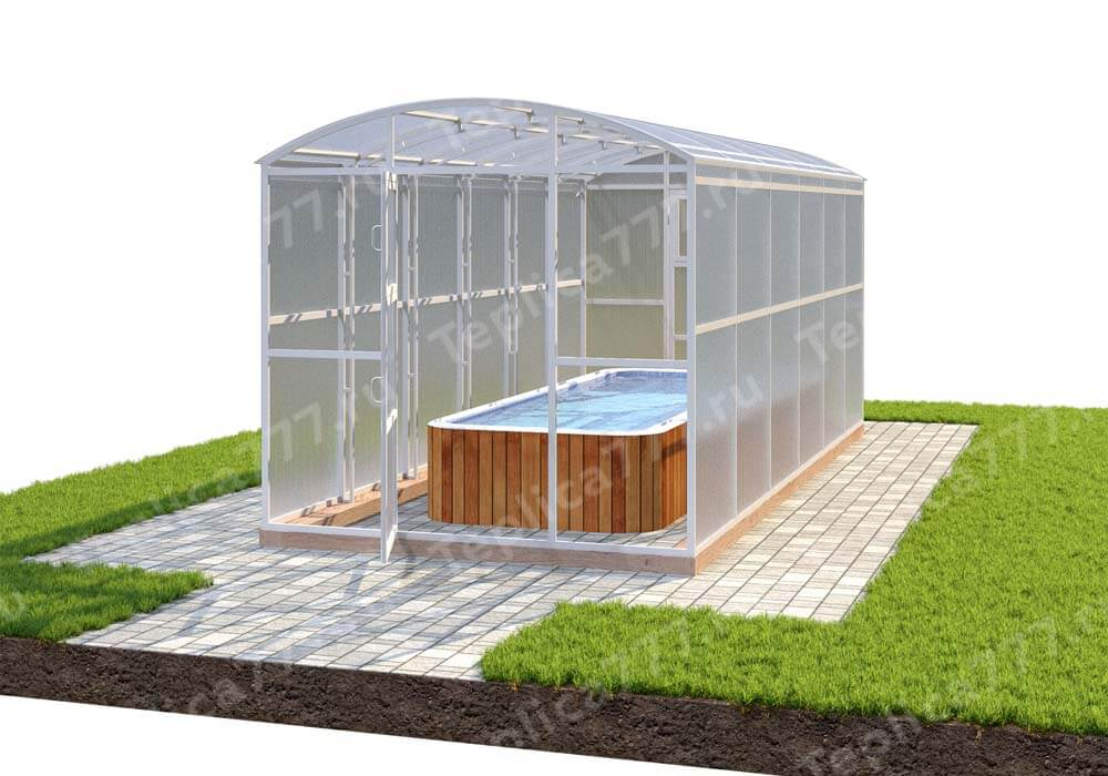 Павильон для бассейна 3,5м