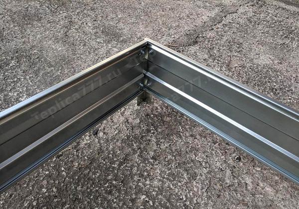 Высокая оцинкованная грядка «Росток усиленная» (h32) - фото 1
